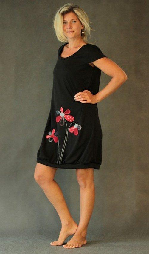 handgemachte Mode – LaJuPe - Abendkleid schwarz