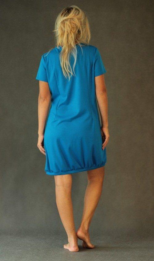 handgemachte Mode – LaJuPe - Kleid blau