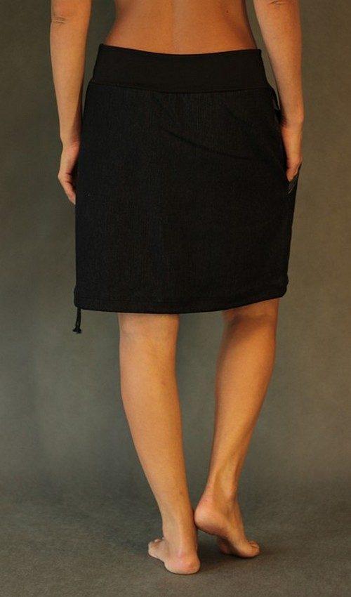 handgemachte Mode – LaJuPe - Damen Rock lang schwarz