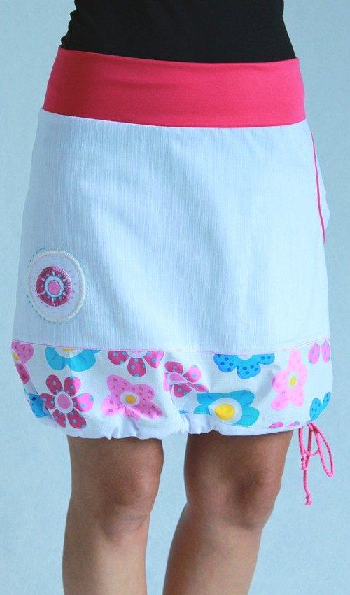 handgemachte Mode – LaJuPe - Damenrock weiß