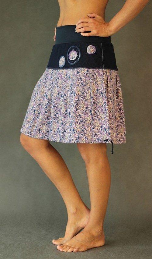 handgemachte Mode – LaJuPe - Blumenrock knielang