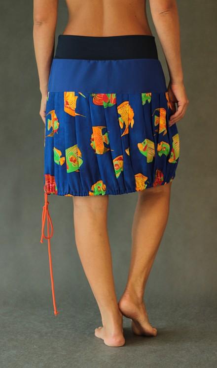 handgemachte Mode – LaJuPe - langer bunter Rock