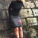 handgemachte Mode – LaJuPe - kurzer schwarzer Rock