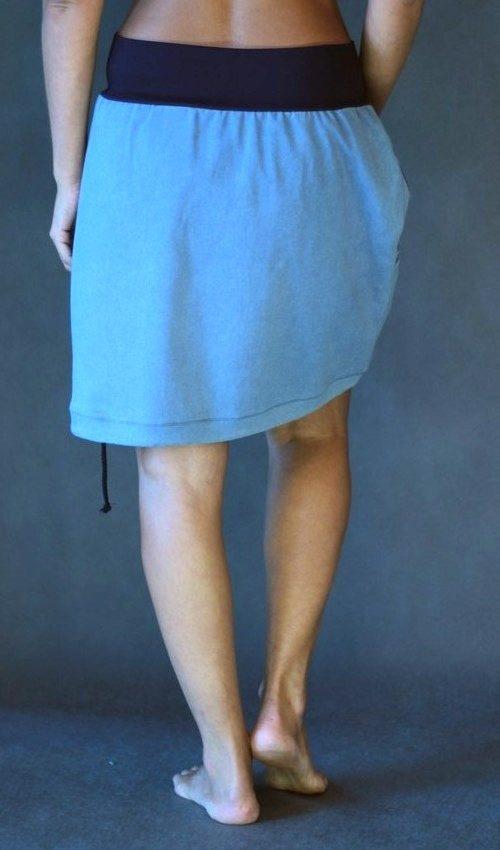 handgemachte Mode – LaJuPe - blauer Sommerrock