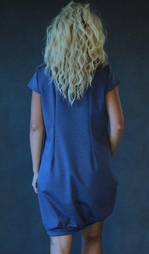 handgemachte Mode – LaJuPe - Damen kleid grau