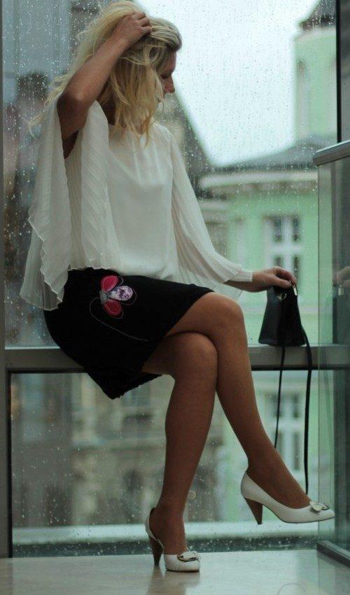handgemachte Mode – LaJuPe - Festlicher schwarzer Rock