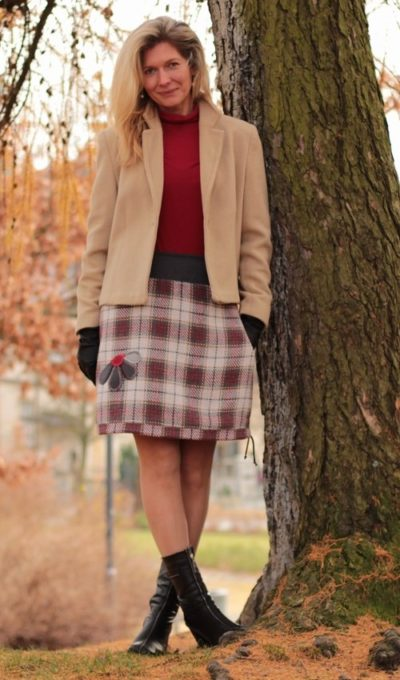handgemachte Mode – LaJuPe - Damen Rock Winter