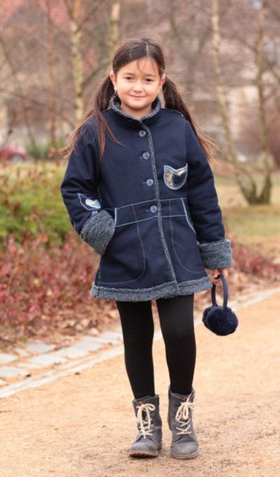 handgemachte Mode – LaJuPe - Winterjacke Kinder