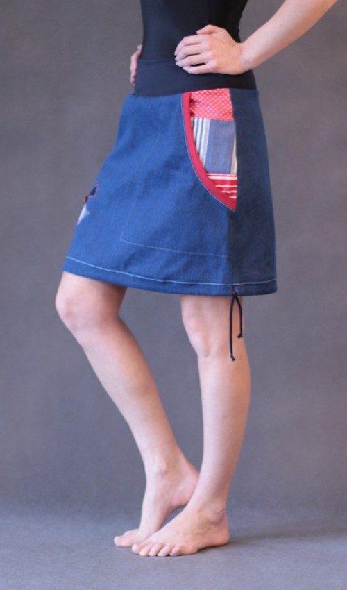 handgemachte Mode – LaJuPe - maxi Jeansrock
