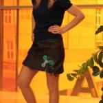 handgemachte Mode – LaJuPe - schwarzer kurzer Rock