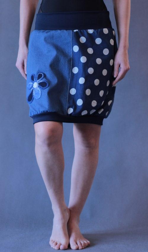handgemachte Mode – LaJuPe - langer Baumwollrock