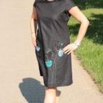 handgemachte Mode – LaJuPe - schwarzes Sommerkleid