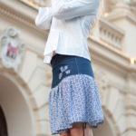 handgemachte Mode – LaJuPe - Damen Sommerrock lang