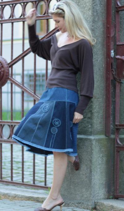 handgemachte Mode – LaJuPe - Maxirock Damen