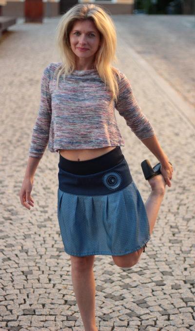 handgemachte Mode – LaJuPe - Sommerrock kurz