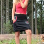 handgemachte Mode – LaJuPe - rock kurz schwarz