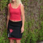 handgemachte Mode – LaJuPe - schwarzer Damenrock