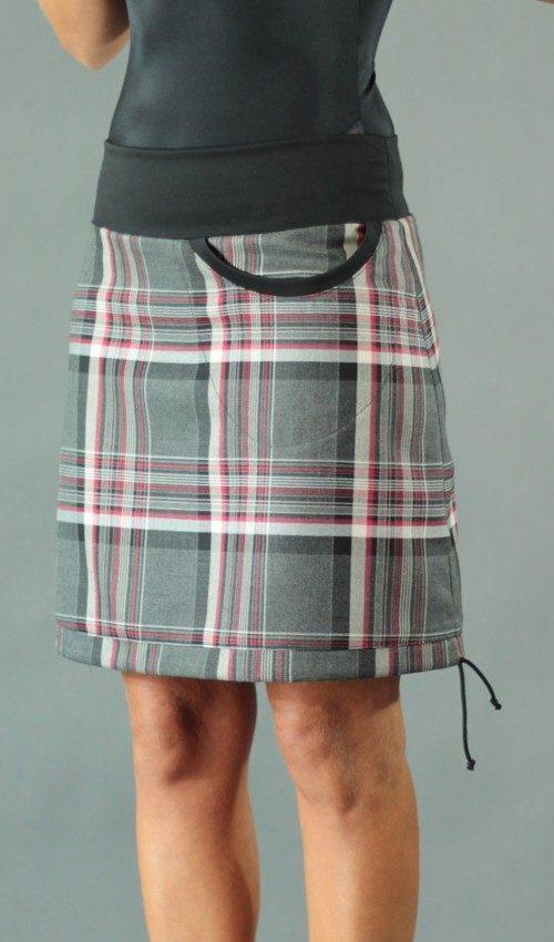 handgemachte Mode – LaJuPe - karo Minirock