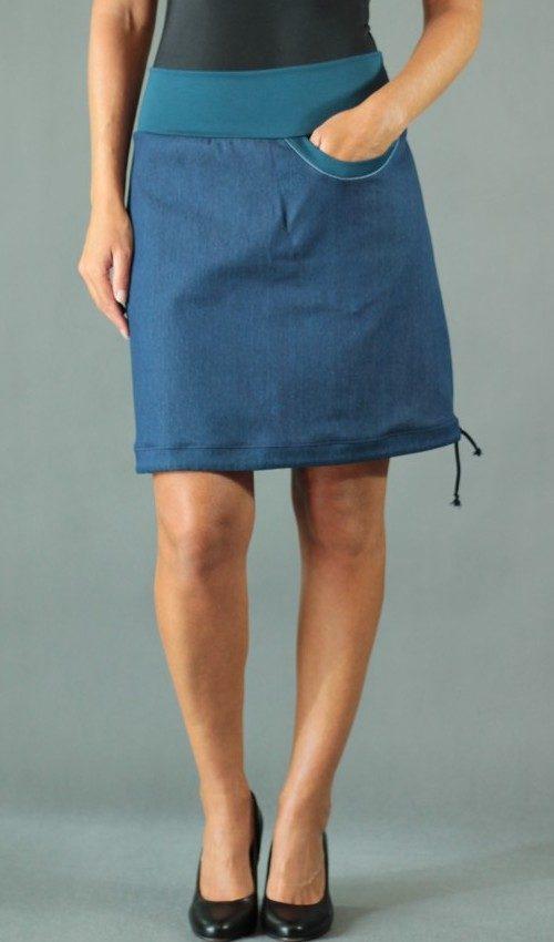 handgemachte Mode – LaJuPe - business Rock blau