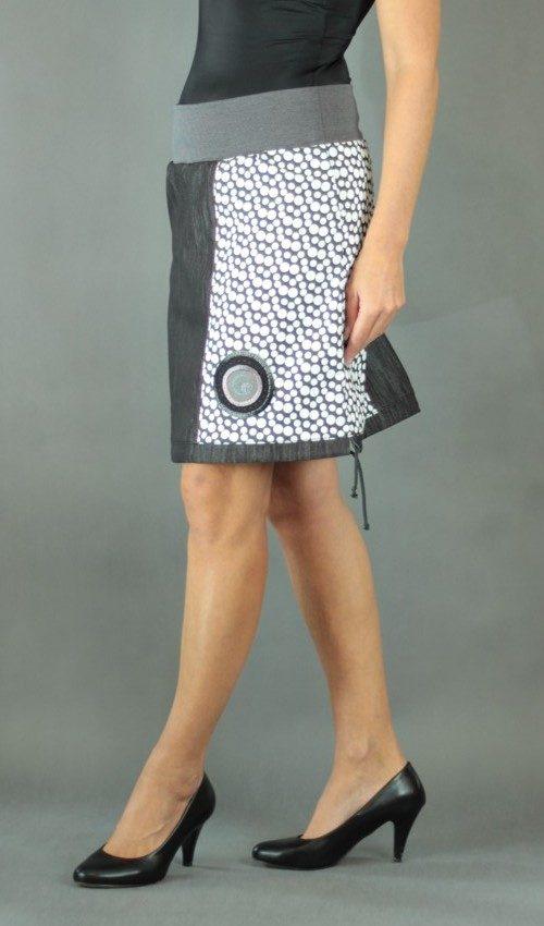 handgemachte Mode – LaJuPe - langer weißer Rock