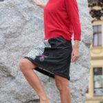 handgemachte Mode – LaJuPe - weißer langer Rock