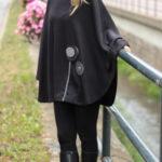 handgemachte Mode – LaJuPe - Poncho schwarz