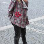 handgemachte Mode – LaJuPe - lange Strickjacke Damen