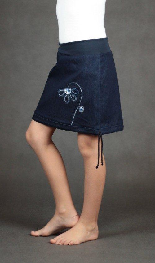 handgemachte Mode – LaJuPe - langer Rock Mädchen
