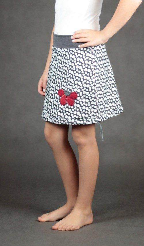 handgemachte Mode – LaJuPe - Jeansrock für Kinder