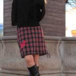 handgemachte Mode – LaJuPe - Damen Rock schottenkaro