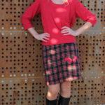 handgemachte Mode – LaJuPe - Damenröcke kariert