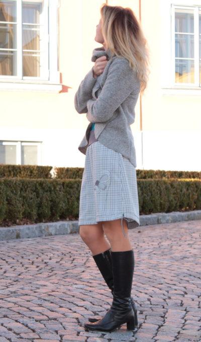 handgemachte Mode – LaJuPe - karierter Damen Rock