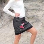 handgemachte Mode – LaJuPe - elegante Röcke schwarz