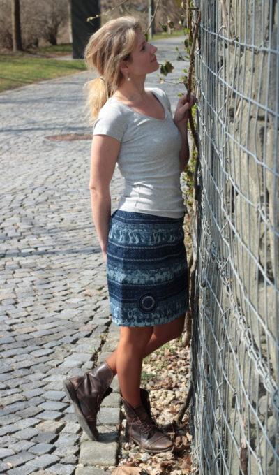 handgemachte Mode - LaJuPe - schöne Röcke für den Winter