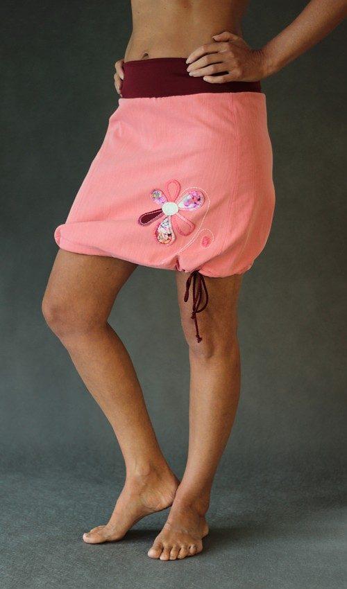handgemachte Mode – LaJuPe - Rock rosa Damen
