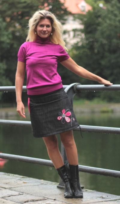 handgemachte Mode – LaJuPe - Damenrock schwarz