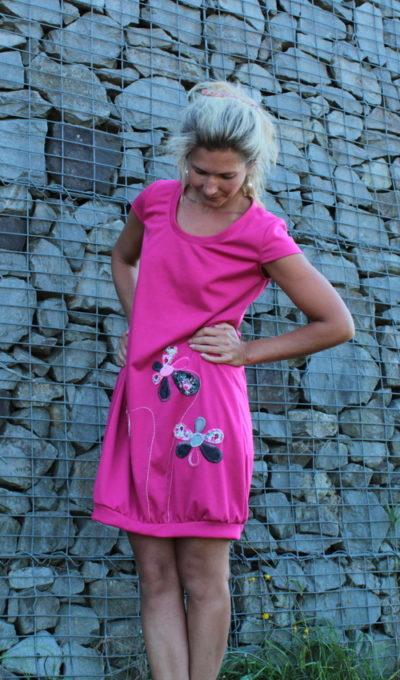 handgemachte Mode – LaJuPe - rosa Kleid