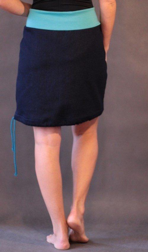 handgemachte Mode – LaJuPe - Rock blau A Linie