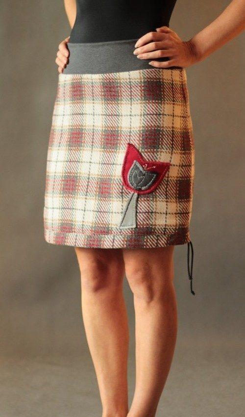 handgemachte Mode – LaJuPe - Damen Winter Rock