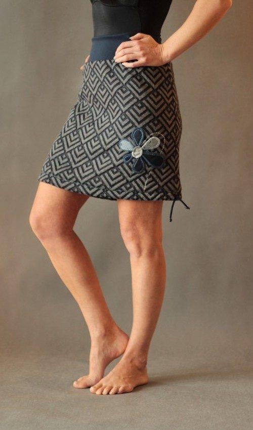 handgemachte Mode – LaJuPe - Winterrock Damen