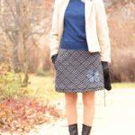 handgemachte Mode – LaJuPe - langer Rock Winter