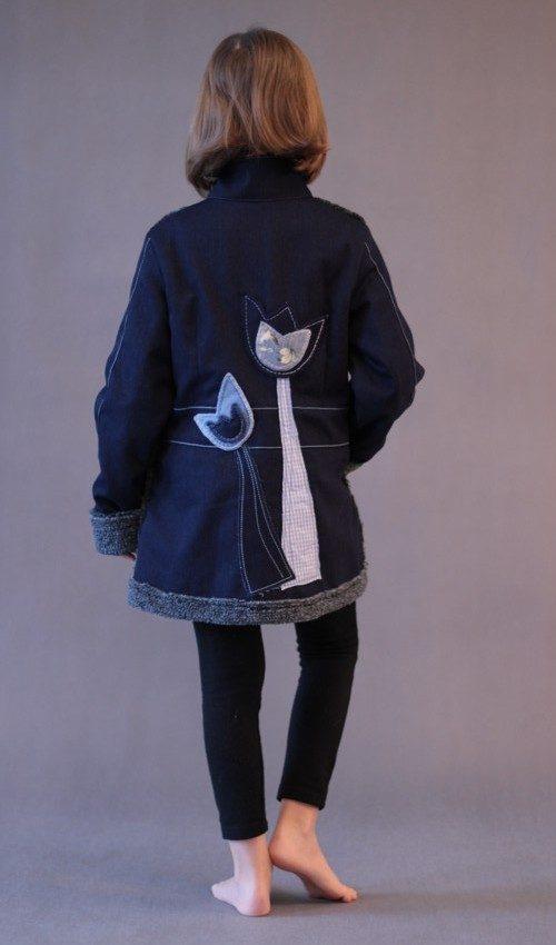 handgemachte Mode – LaJuPe - Winterjacke Mädchen