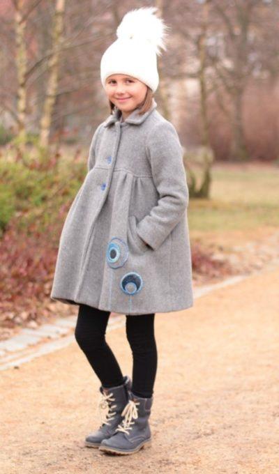 handgemachte Mode – LaJuPe - Wintermantel Mädchen