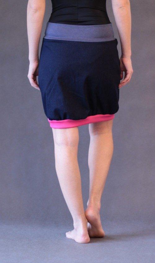handgemachte Mode – LaJuPe - Damen Rock rosa