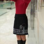 handgemachte Mode – LaJuPe - schwarzer Rock Damen
