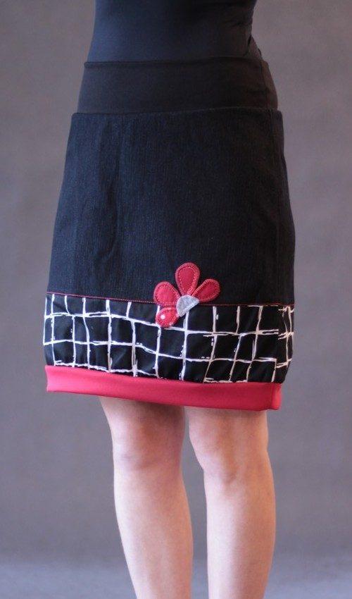 handgemachte Mode – LaJuPe - schwarzer Rock