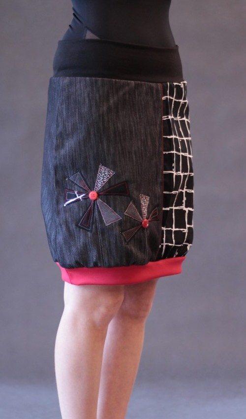 handgemachte Mode – LaJuPe - Rock in schwarz