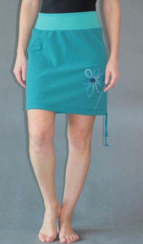 handgemachte Mode – LaJuPe - grüner kurzer Rock