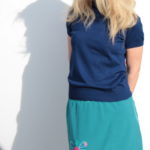 handgemachte Mode – LaJuPe - Midirock grün