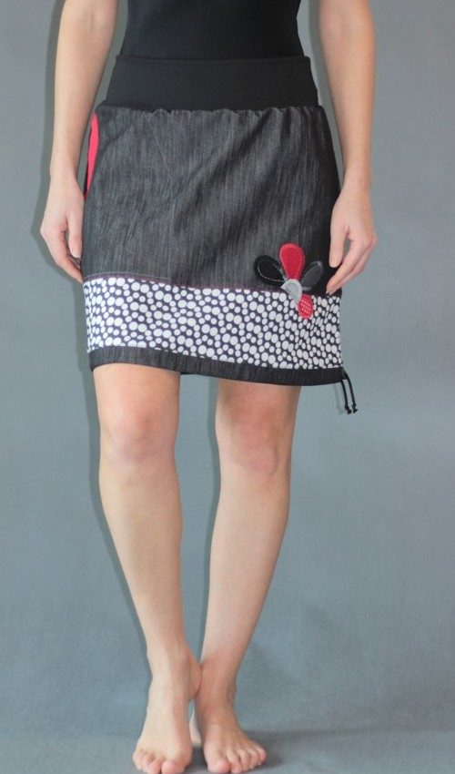 handgemachte Mode – LaJuPe - Rock schwarz Damen